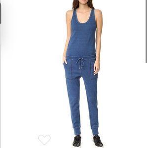 Rag & Bone Jeans Indigo Blue Jumpsuit Small